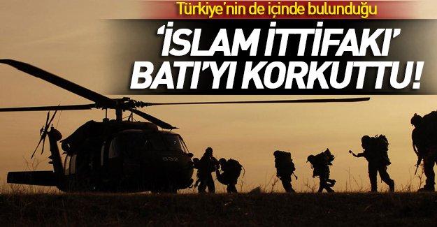 'İslam ittifakı' Batı'yı panikletti