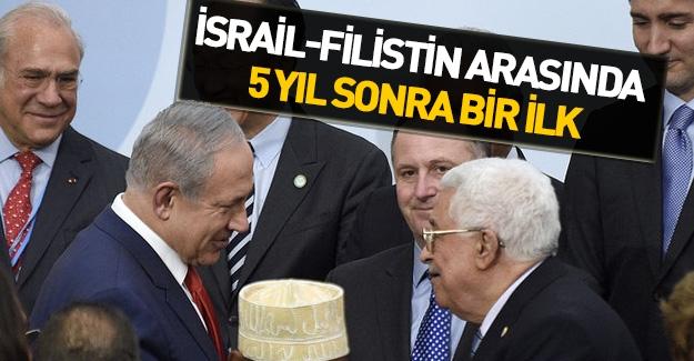 İsrail ile Filistin arasında 5 yıl sonra bir ilk
