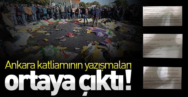 Kanlı Ankara saldırısının yazışmaları ortaya çıktı! İşte o yazışmalar!