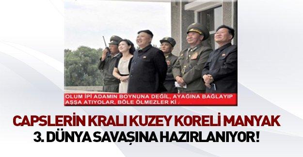 Kuzey Koreli manyak boş durmuyor!