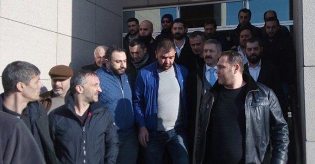 Mafya babası Sedat Şahin serbest bırakıldı