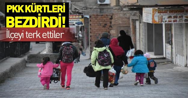 Mardin'de PKK'ya tepki! 50 bin kişi ilçeyi terketti!
