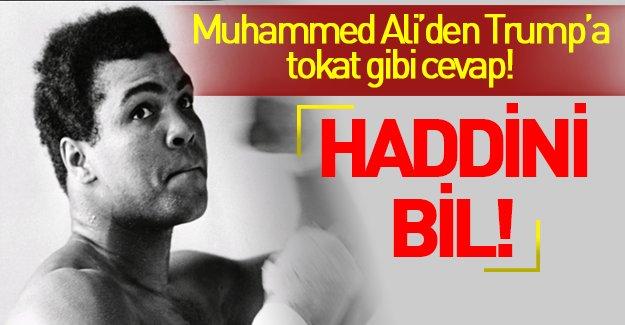 Muhammed Ali'den Trup ve Daeş'e sert tepki