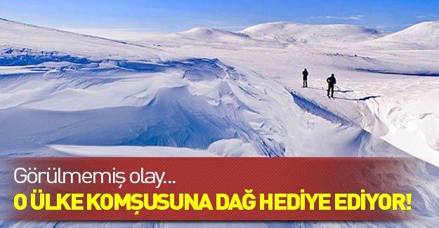 Norveç Finlandiya'ya dağ hediye ediyor!