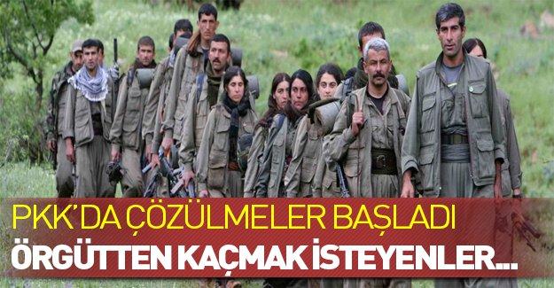 PKK'da içerden mi bitiyor? Örgüt kan kaybediyor...
