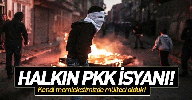 PKK'lı değilsen evine çarpı atıyorlar...!