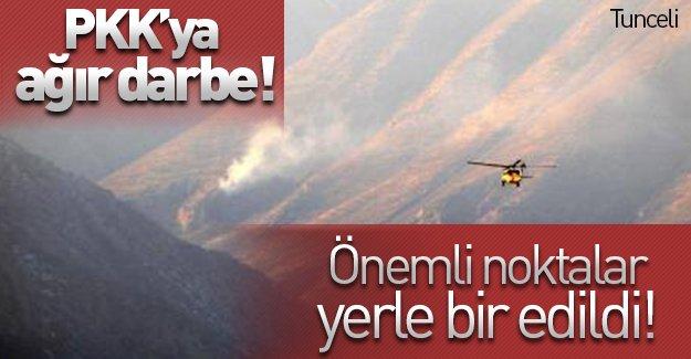 PKK'ya ağır darbe! Önemli noktalar yerle bir edildi!