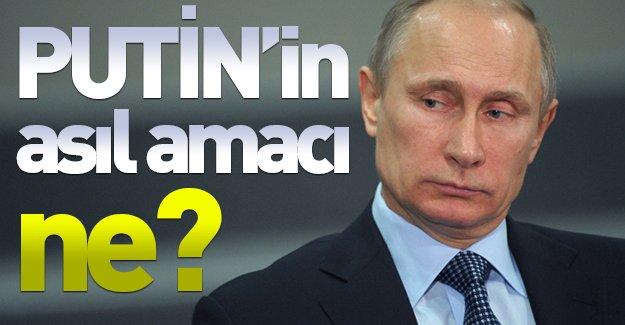 Putin'in asıl amacı ne? Başbakan Davutoğlu: ''Putin'in asıl amacı...''