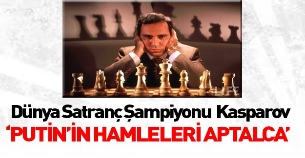Rus satranç şampiyonu Putin'i yerden yere vurdu!