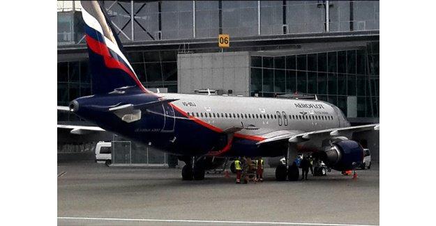 Rus uçağı Türkçe konuşuluyor diye kalkış yapmadı!