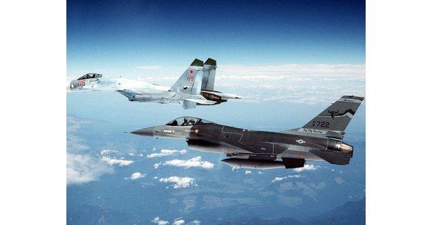Rus Uçaklarına Karşı NATO Angajmanı!