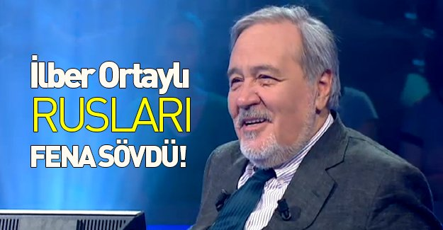 Rusya televizyonunda yayınlanan program İlber Ortaylı'nın ağzını bozdu! Murat Bardakçı yazdı...