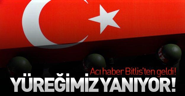 SON DAKİKA: Acı haber Bitlis'ten geldi! Şehitler ve yaralılar var...