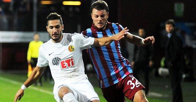 SON DAKİKA: Trabzonspor-Eskişehirspor maçının ilk 11'leri belli oldu!