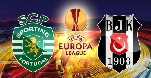 Sporting Lizbon-Beşiktaş maçının ilk 11'leri belli oldu!