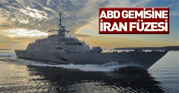 Tansiyon yükseliyor... İran ABD gemisini vurdu...