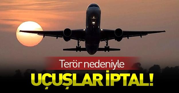 Türk Hava Yolları Şırnak uçuşlarını iptal etti