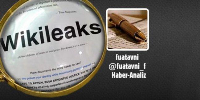 WikiLeaks, Fuat Avni'nin Rus uçağı iddiasını paylaştı