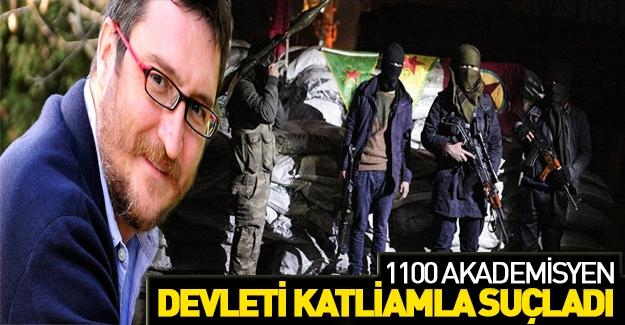 1100 akademisyen askeri polisi katliamla suçladı