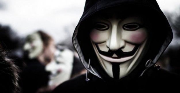 Anonymous yine savaş açtı!