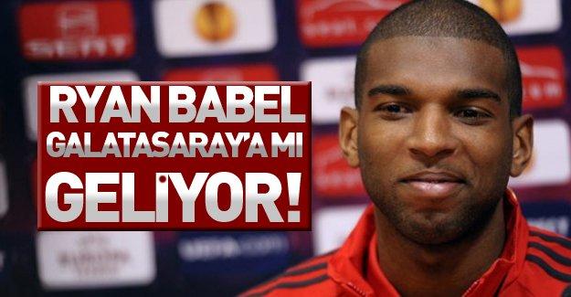 Babel'den Galatasaray mesajı! Ryan Babel cimboma mı geliyor?