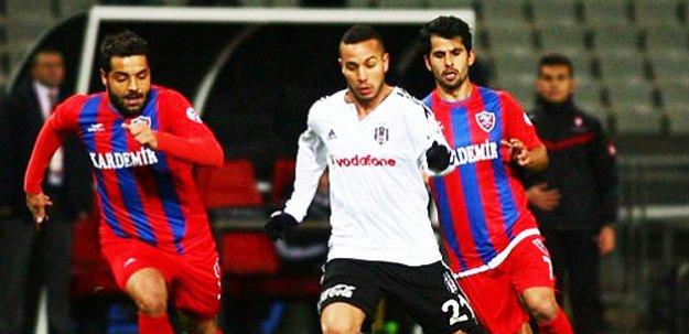 Beşiktaş Karabükspor'a yenildi!