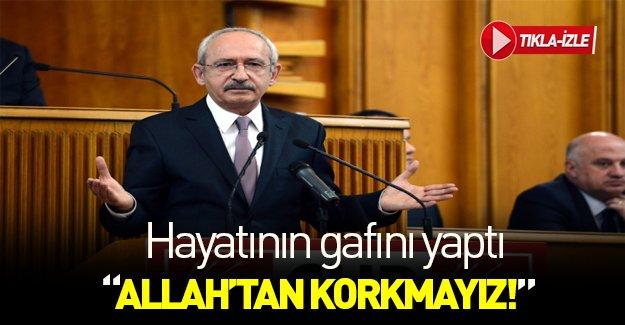 CHP lideri hayatının gafına imza attı!