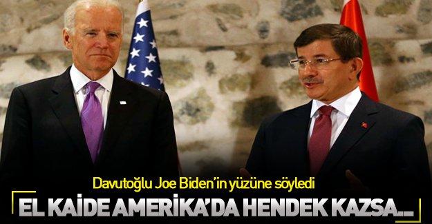 Davutoğlu PKK hendekleri için El Kaide'yi örnek verdi