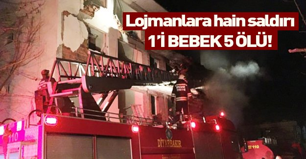 Diyarbakır'da 3 ayrı noktaya eş zamanlı saldırı