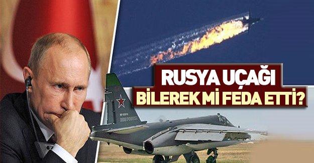 Düşürülen Rus jetiyle ilgili bomba iddia