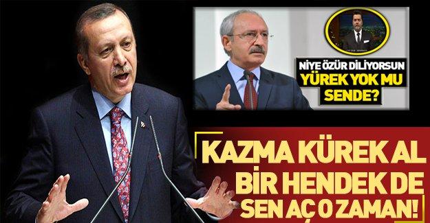 Erdoğan'dan Kılıçdaroğlu'na Beyaz eleştirisi!