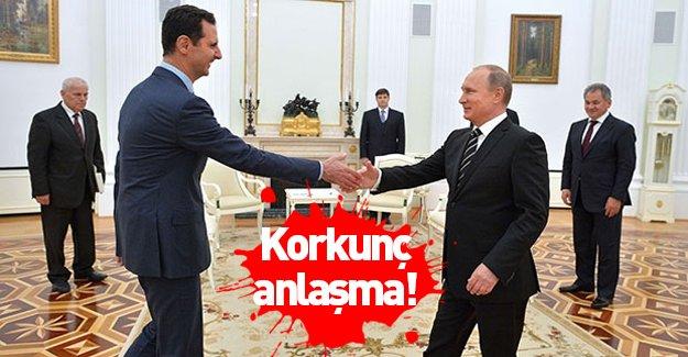 Esed ile Putin arasında korkunç anlaşma!