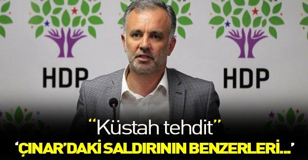 HDP sözcüsünden skandal açıklamalar!