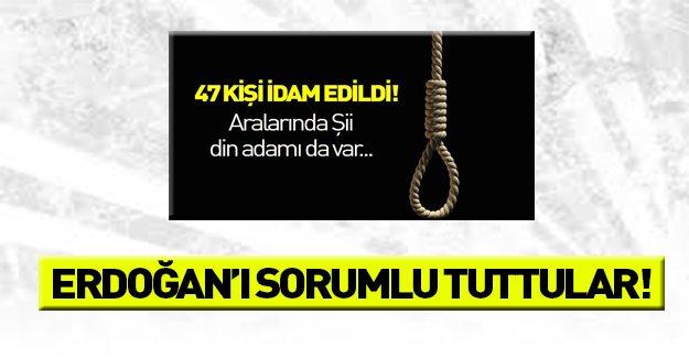 İdamlardan Erdoğan'ı sorumlu tuttular!