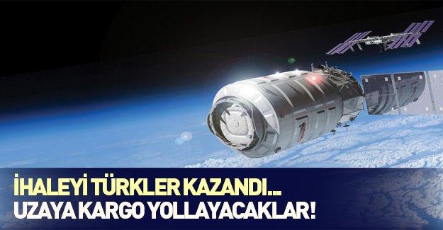 İhaleyi Türkler kazandı! Uzaya kargo yollayacaklar...