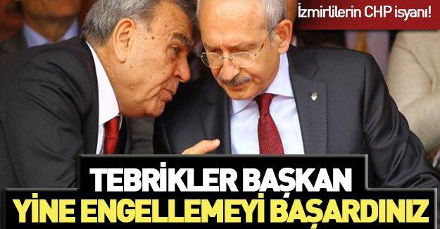 İzmirliler CHP'li Başkan'a isyan etti