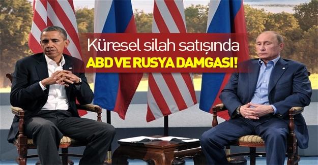 Küresel silah satışlarında ABD ve Rusya damgası!