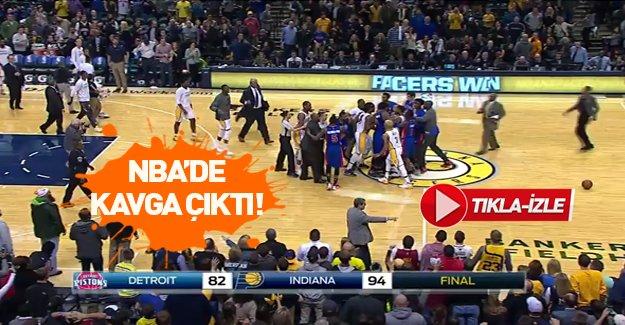 NBA'de kavga çıktı!