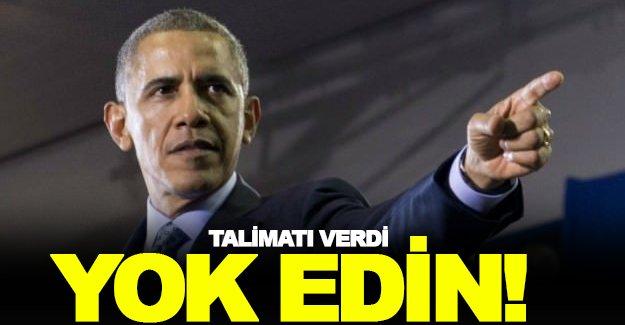 Obama'dan DEAŞ'i bitirecek talimat