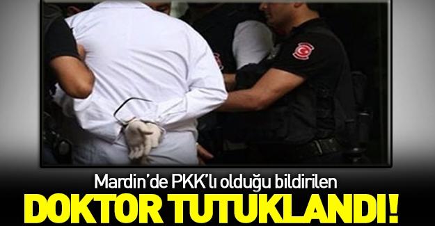 PKK'lı doktor tutuklandı