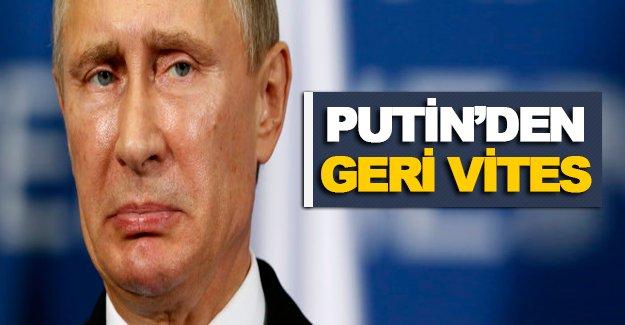 Putin, tükürdüğünü yalamaya devam ediyor!