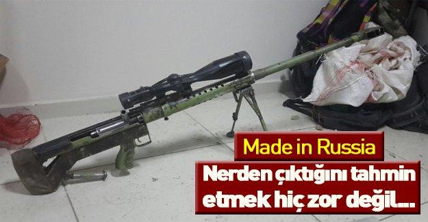 Rus malı silah ele geçirildi...