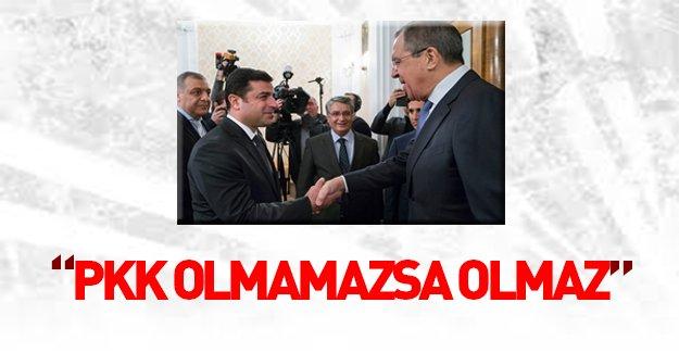 Rusya'dan küstah PYD açıklaması!