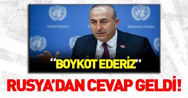 Rusya'dan Türkiye'ye Cenevre yanıtı