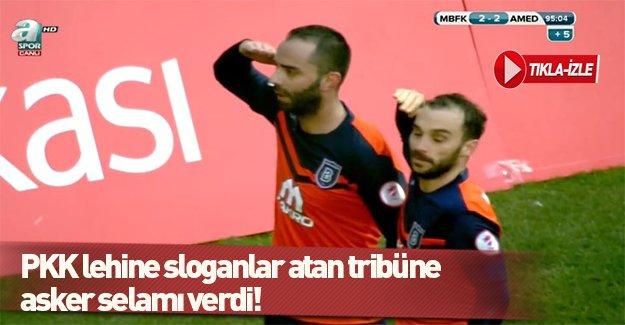 Semih Şentürk'ten asker selamı!