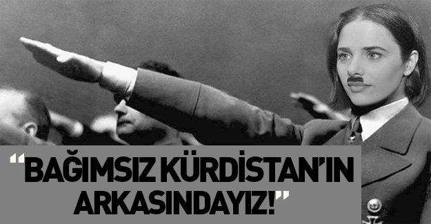 """Shaked: """"Bağımsız Kürdistan'ın arkasındayız"""""""