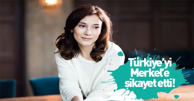 Sibel Kekilli Türkiye'yi Merkel'e şikayet etti!