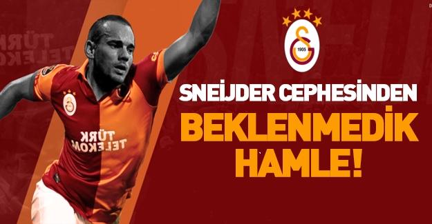 Sneijder cephesinden flaş geliş gelişme! Menajeri İstanbul'a geldi