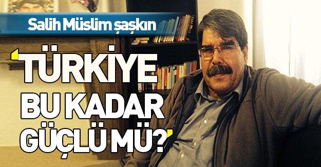 'Türkiye bu kadar güçlü mü?' dedi, cevap şok etti