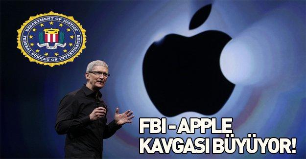 Apple ile FBI kavgası büyüyor